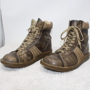 Leather 2b25 Flamingo Brown Dr Shoes Dr Size Martens Doc qx04wap